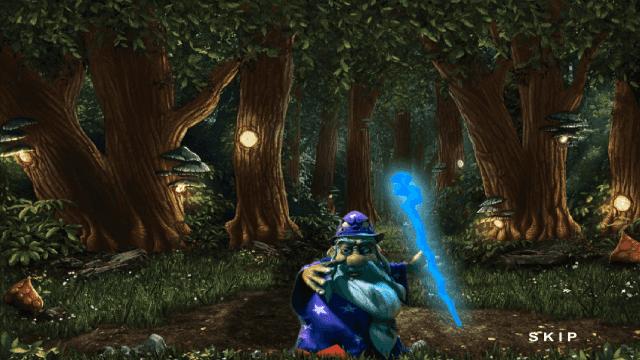 Игровой интерфейс Enchanted 0