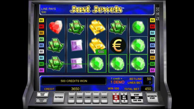 Бонусная игра Just Jewels 0