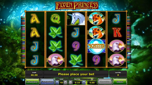 Игровой интерфейс Elven Princess 1
