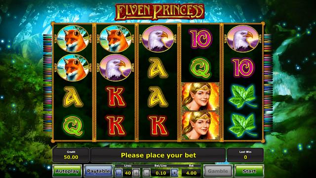 Характеристики слота Elven Princess 0