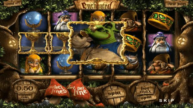 Характеристики слота Enchanted 1